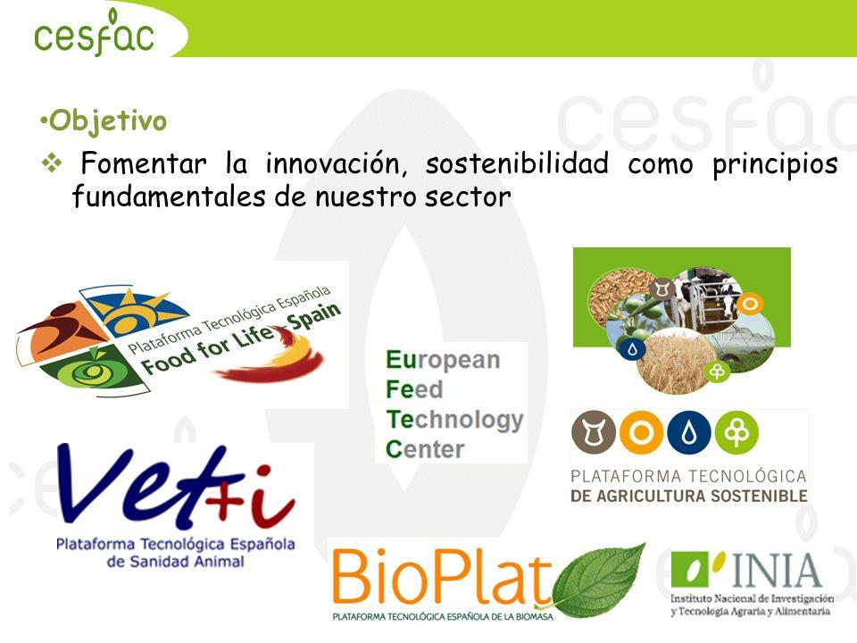 Objetivo Fomentar la innovación, sostenibilidad como principios fundamentales de nuestro sector