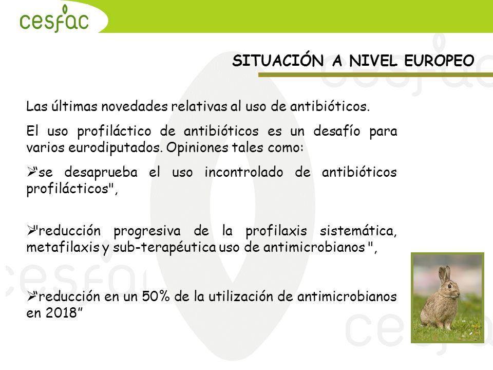 Las últimas novedades relativas al uso de antibióticos. El uso profiláctico de antibióticos es un desafío para varios eurodiputados. Opiniones tales c