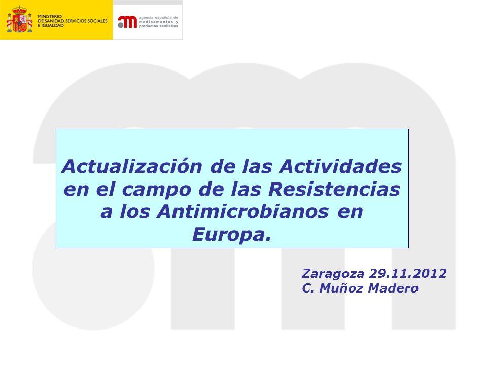 Principales Actividades Actividades UE Actividades EMA Actividades España