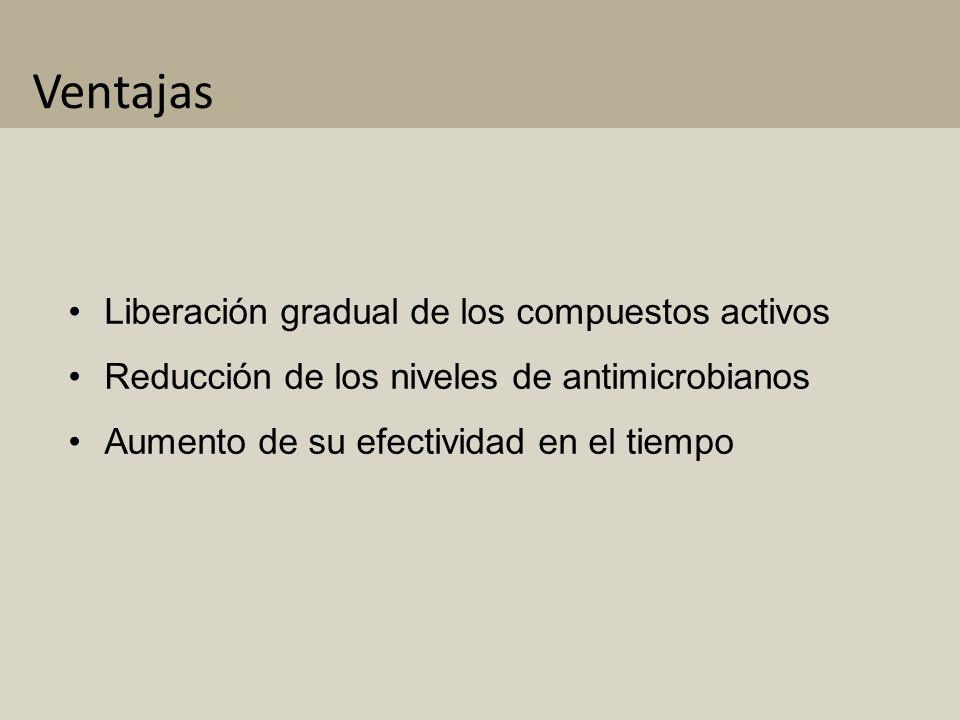 Antimicrobianos en el envase activo A CEITES E SENCIALES