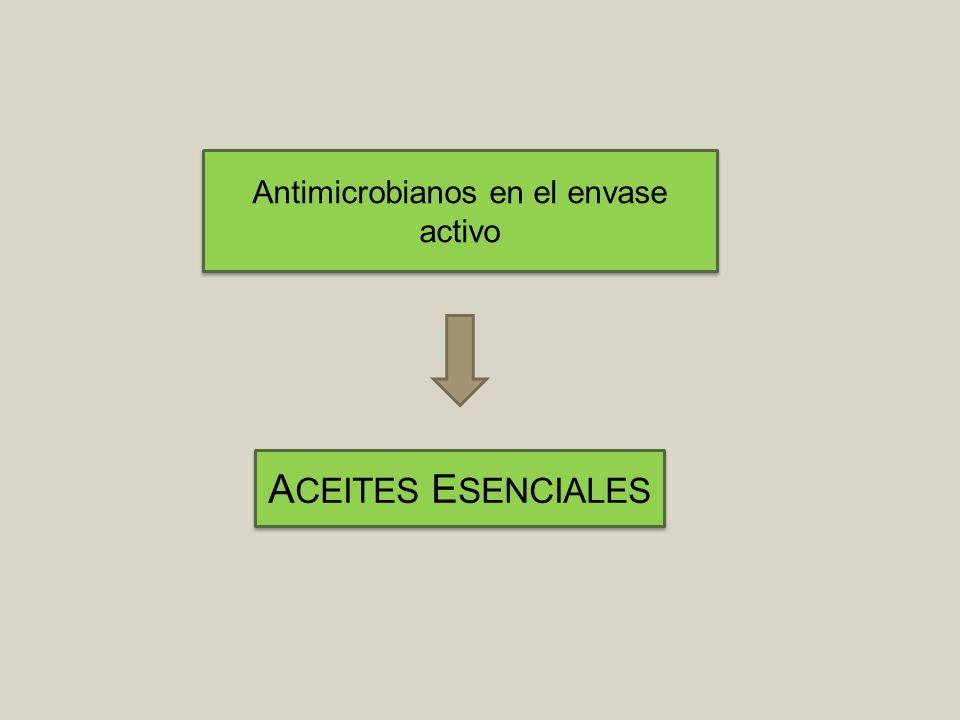 Los Aceites Esenciales (AEs) Líquidos oleosos, volátiles y olorosos Producidos por plantas Composición compleja Antimicrobianos