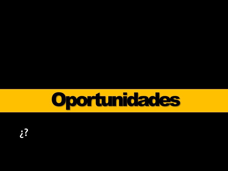 Oportunidades ¿