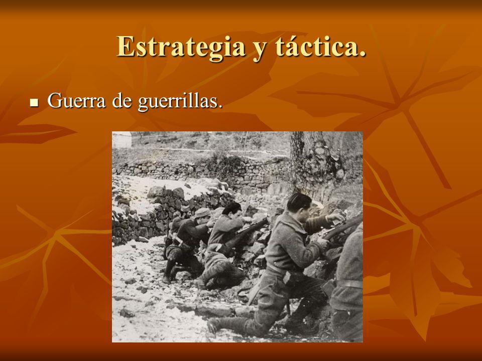 Estrategia y táctica. Guerra de guerrillas. Guerra de guerrillas.