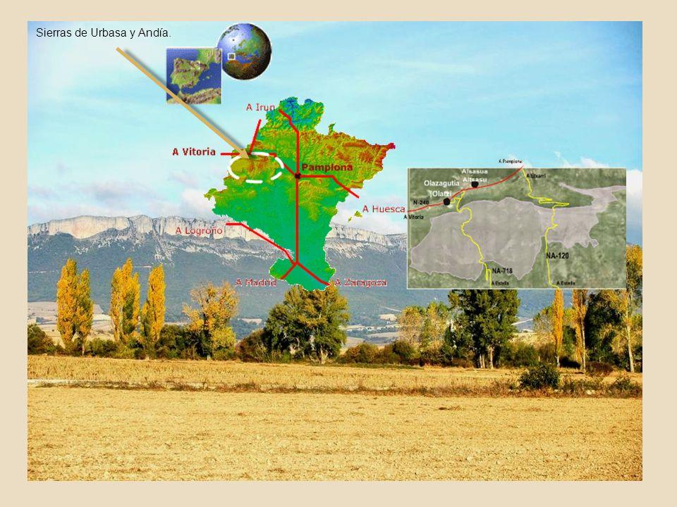 Sierras de Urbasa y Andía.