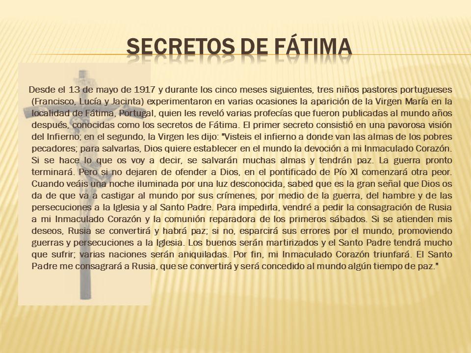 Segundo Secreto de la Virgen de Fátima, su importancia para Venezuela y para ti
