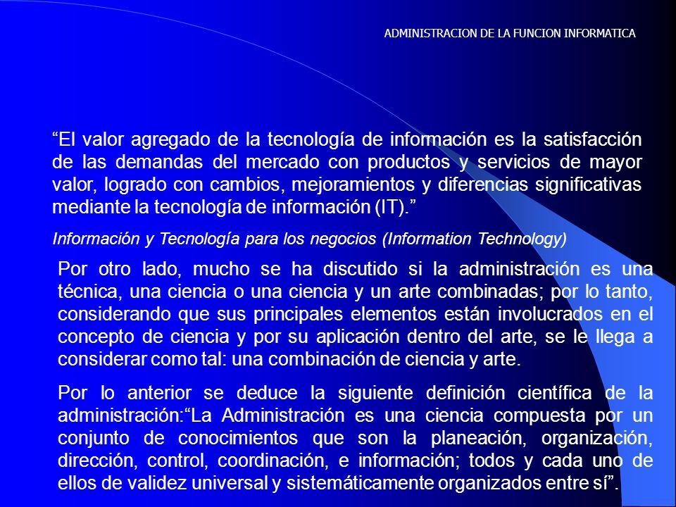 De la misma forma en que sé hablado de las funciones administrativas básicas llegamos a la parte que le corresponde a la información; el informar y el hacer uso de la información.