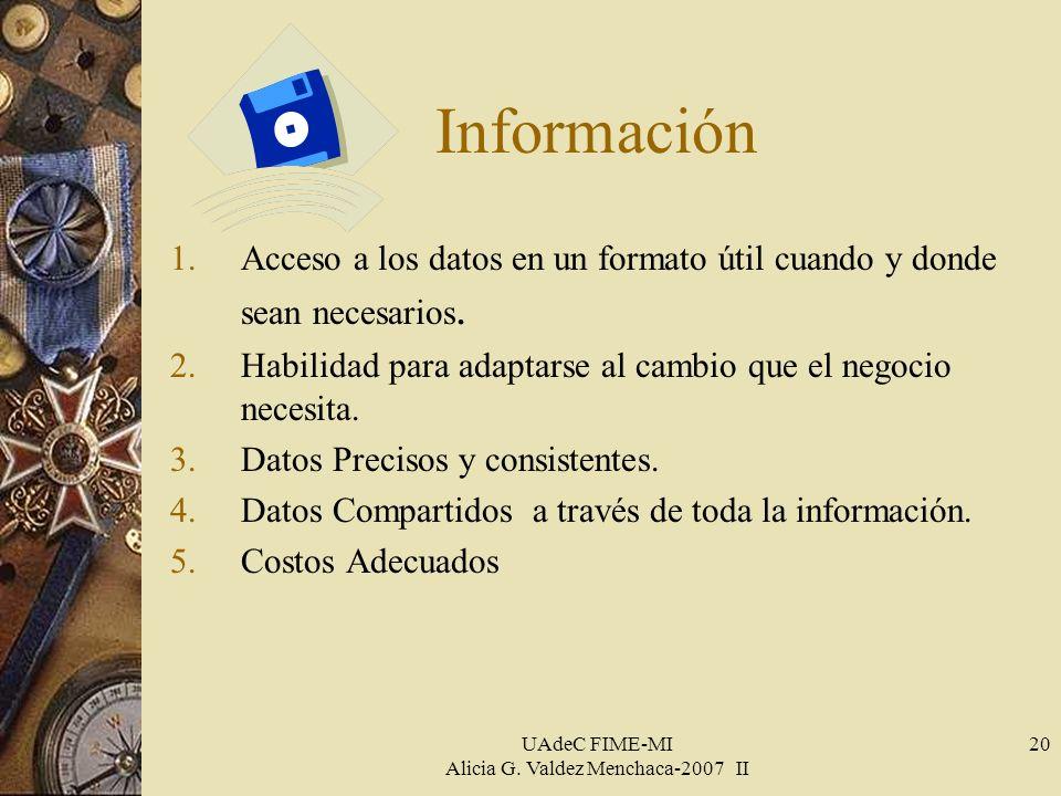 UAdeC FIME-MI Alicia G.