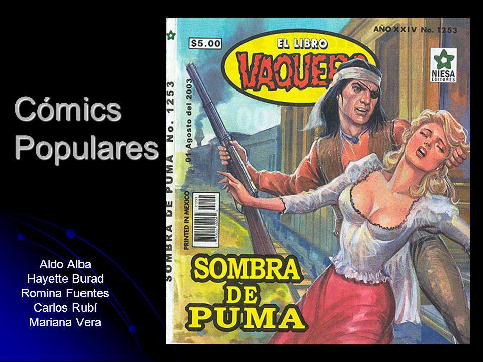 Cómics Populares Aldo Alba Hayette Burad Romina Fuentes Carlos Rubí Mariana Vera