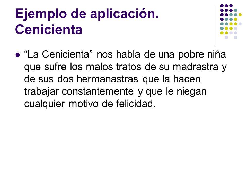 Ejemplo de aplicación.Cenicienta I.