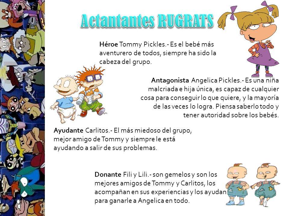 Donante Fili y Lili.- son gemelos y son los mejores amigos de Tommy y Carlitos, los acompañan en sus experiencias y los ayudan para ganarle a Angelica