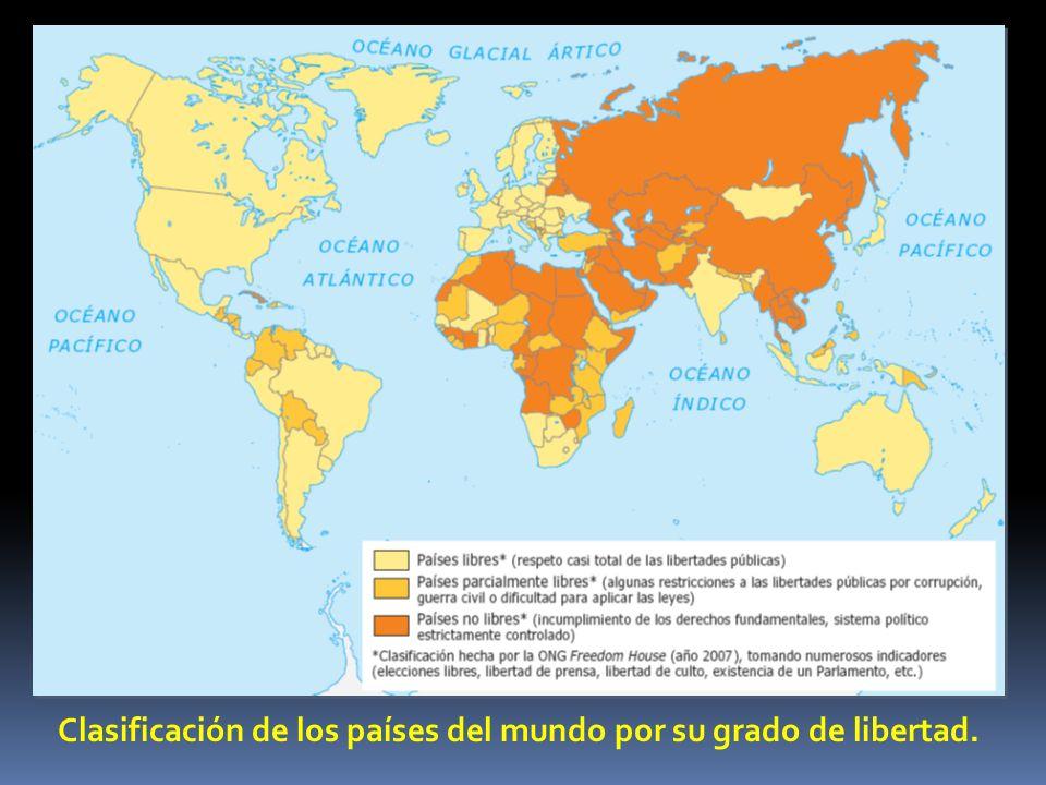 1.Los regímenes autoritarios. Se dan principalmente en el Tercer Mundo.