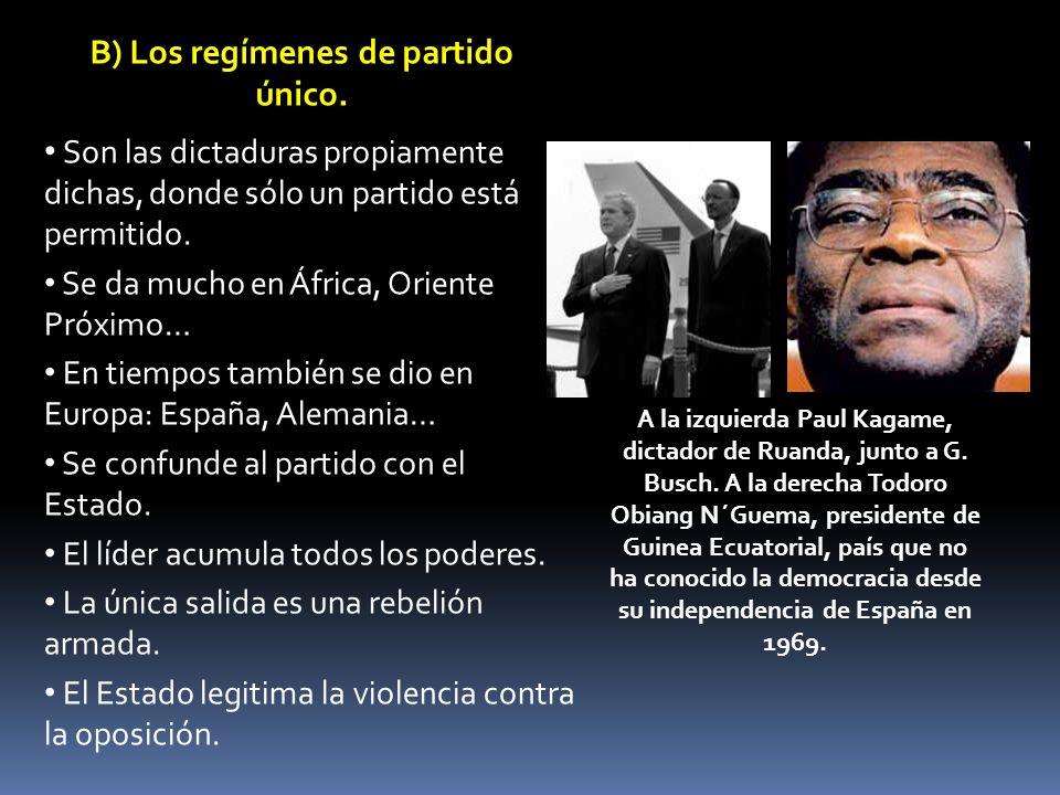 2.La violación de los derechos humanos.
