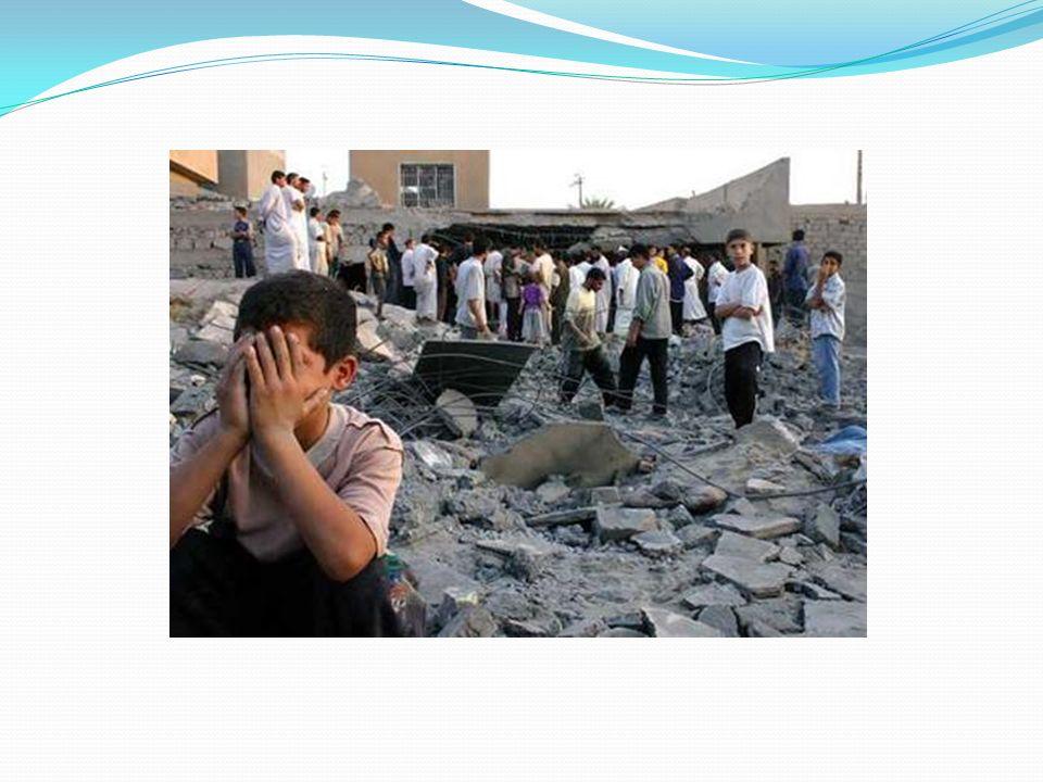 Impacto en la población civil No se sabe el número exacto de las víctimas iraquíes, que algunos cifran en cien mil y que sin duda alcanzaron de manera