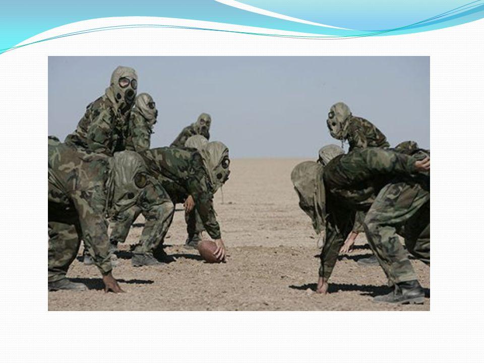 Impacto en la población civil Síndrome de la Guerra del Golfo: Tras esta guerra, miles de soldados empezaron a sentir síntomas de un notorio debilitam