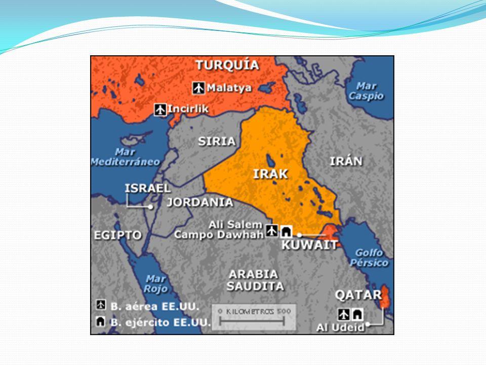 Impacto en la población civil Destrucción de Irak: Se podría decir a grandes rasgos de que la Guerra del Golfo terminó por destruir una sociedad que estaba seriamente desgastada tanto por los conflictos armados, como los políticos al interior del país.