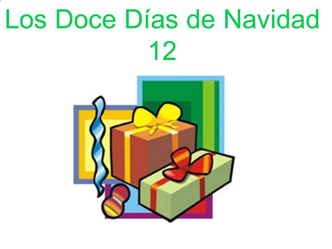 Los Doce Días de Navidad 12