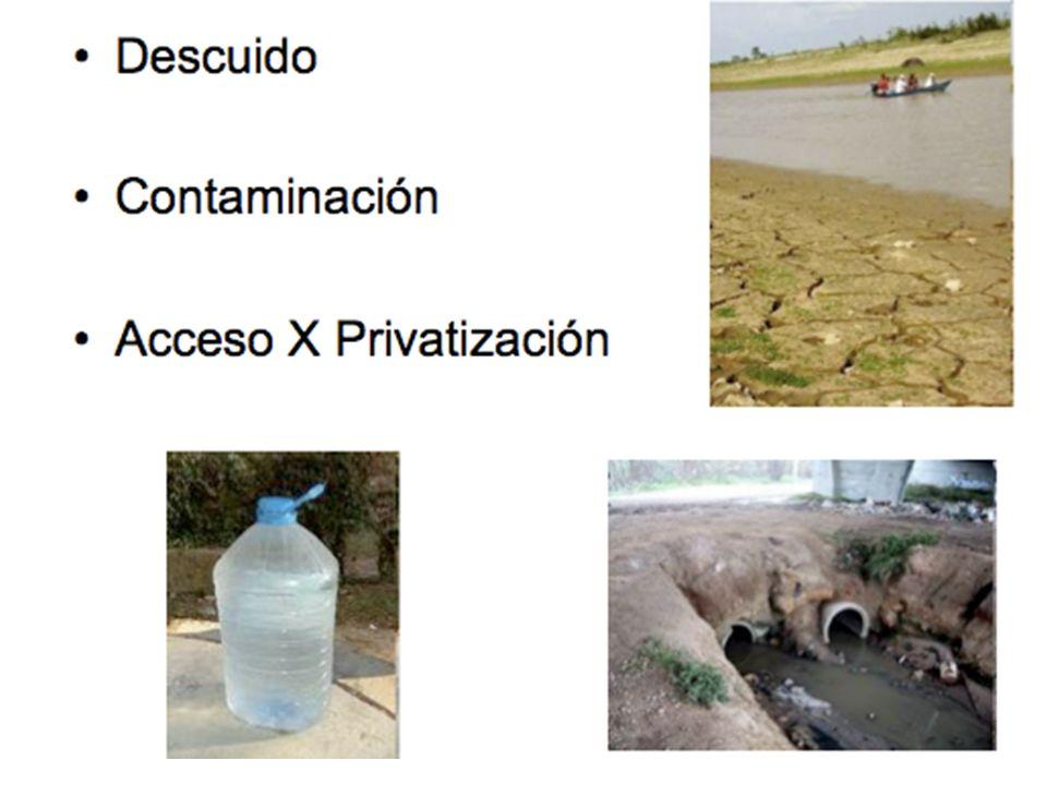 Descuido Contaminación Acceso X Privatización