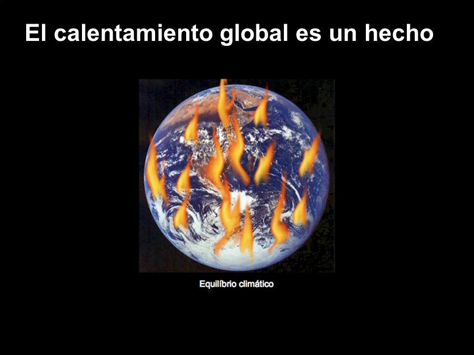 El calentamiento global es un hecho