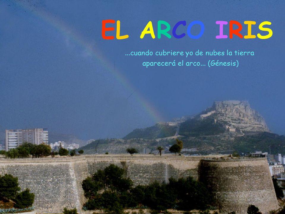 EL ARCO IRIS...cuando cubriere yo de nubes la tierra aparecerá el arco... (Génesis)