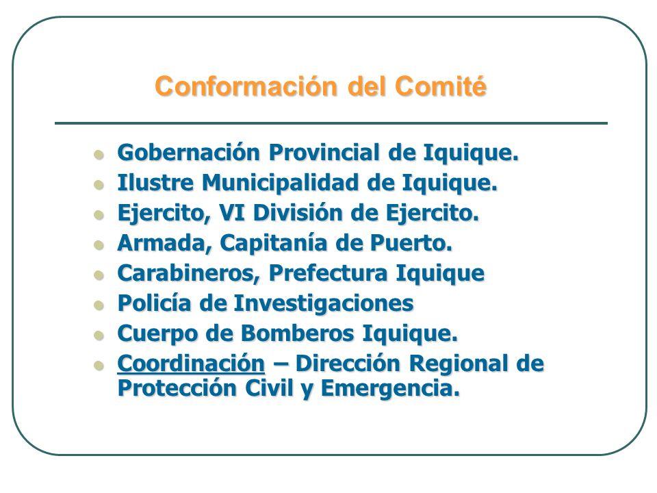 ALERTA POR TSUNAMI Es en este Modo de Alerta es donde se procede a activar el Sistema Local de Alarma de Tsunami – SLAT, para la ciudad de Iquique.