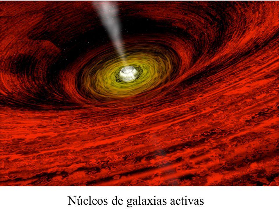 Núcleos de galaxias activas