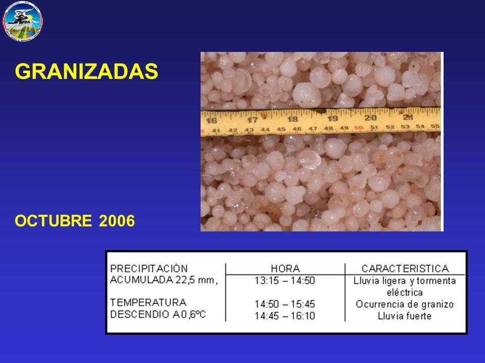OCTUBRE 2006 GRANIZADAS