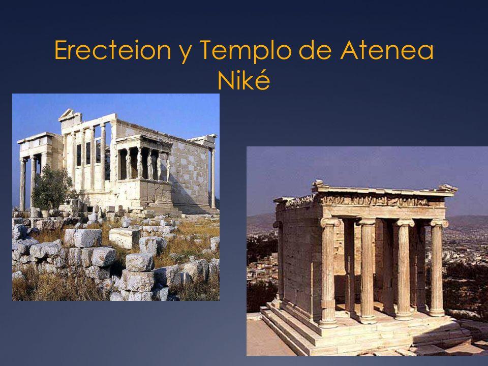 Erecteion y Templo de Atenea Niké