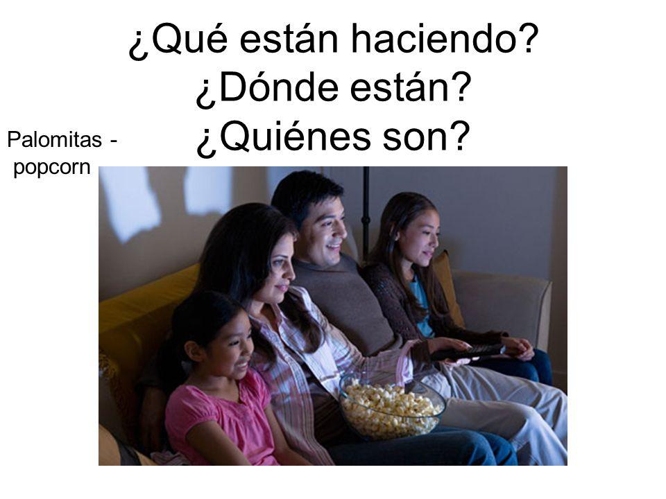 Palomitas - popcorn