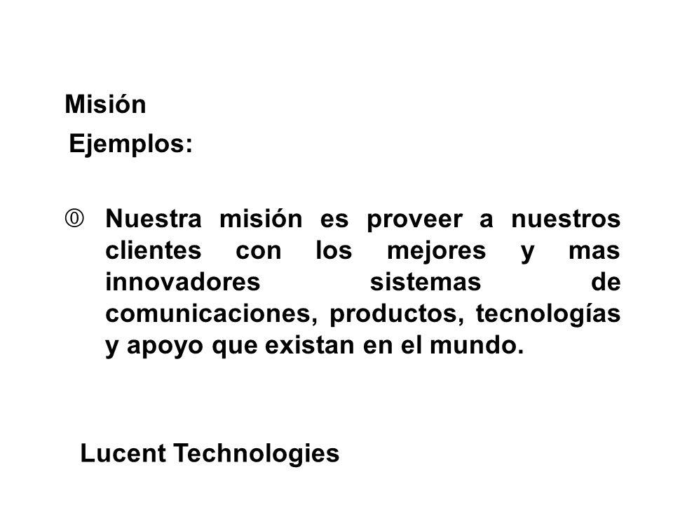 €Nuestra misión es proveer a nuestros clientes con los mejores y mas innovadores sistemas de comunicaciones, productos, tecnologías y apoyo que exista