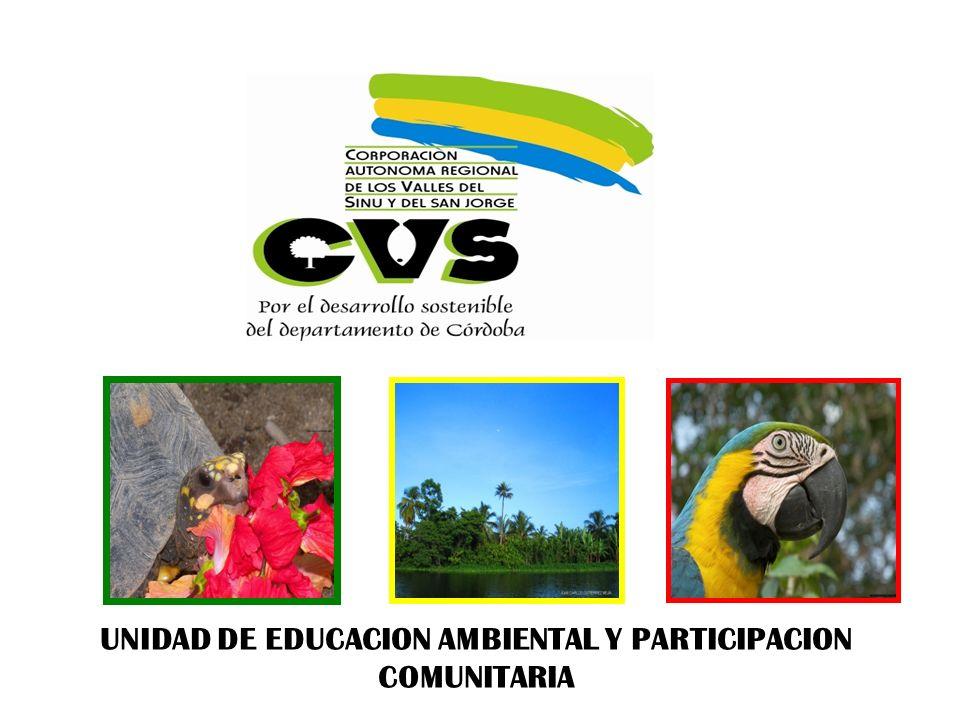 UNIDAD DE EDUCACION AMBIENTAL Y PARTICIPACION COMUNITARIA