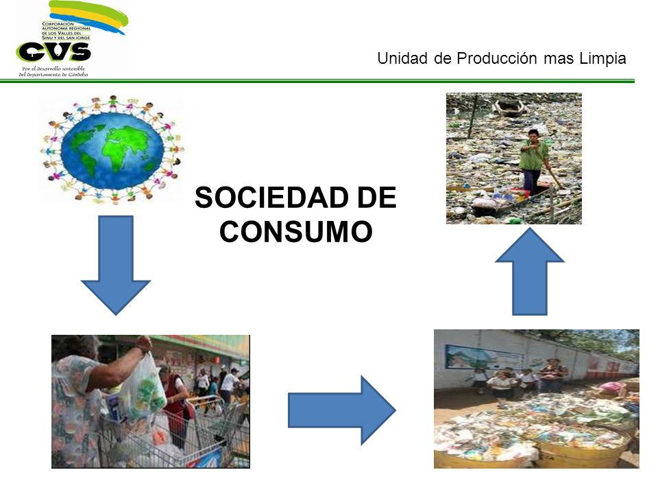 Unidad de Producción mas Limpia 3 SOCIEDAD DE CONSUMO