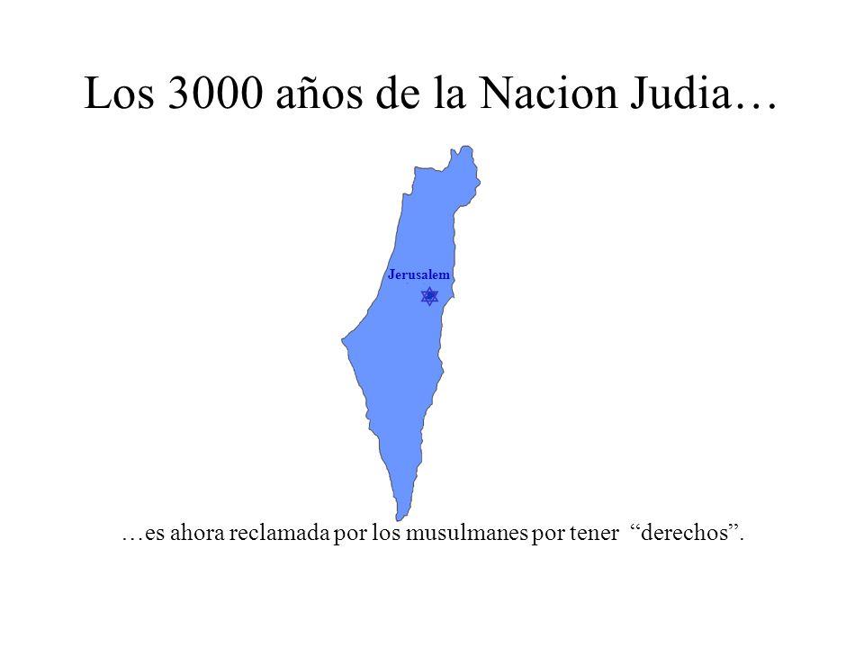 Jerusalem Los 3.000 años de la Nacion Judia…