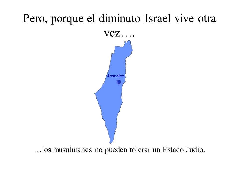 Jerusalem Esto, a pesar del hecho que… …los musulmanes del Este de Israel tornan sus espaldas a Jerusalem