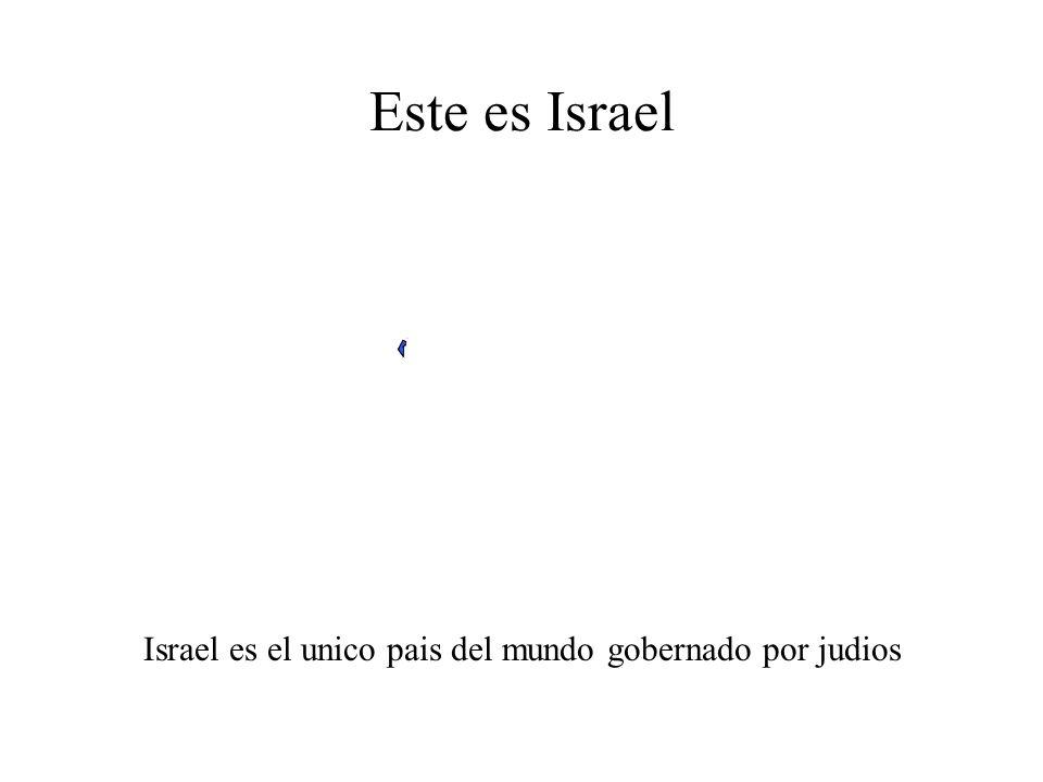 Este es el mundo musulman e Israel Israel esta en azul. Puede verlo
