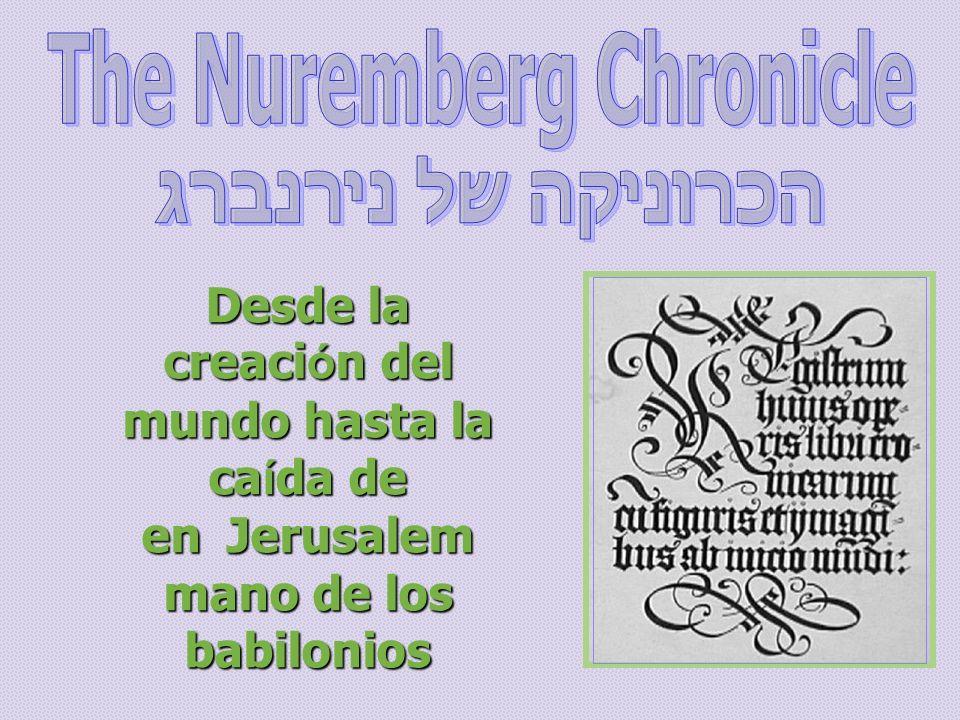 Desde la creaci ó n del mundo hasta la ca í da de Jerusalem en mano de los babilonios