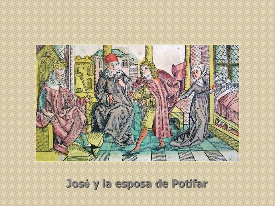 Jos é y la esposa de Potifar