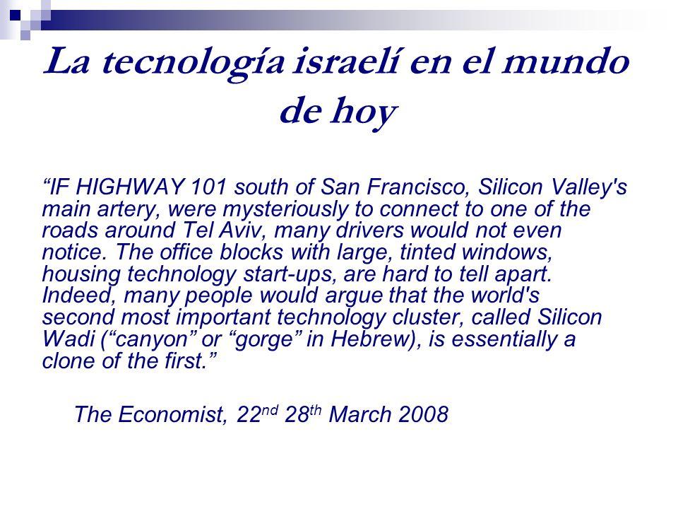 Avances científicos y tecnológicos de Israel David Hatchwell Universidad del Rey Juan Carlos.