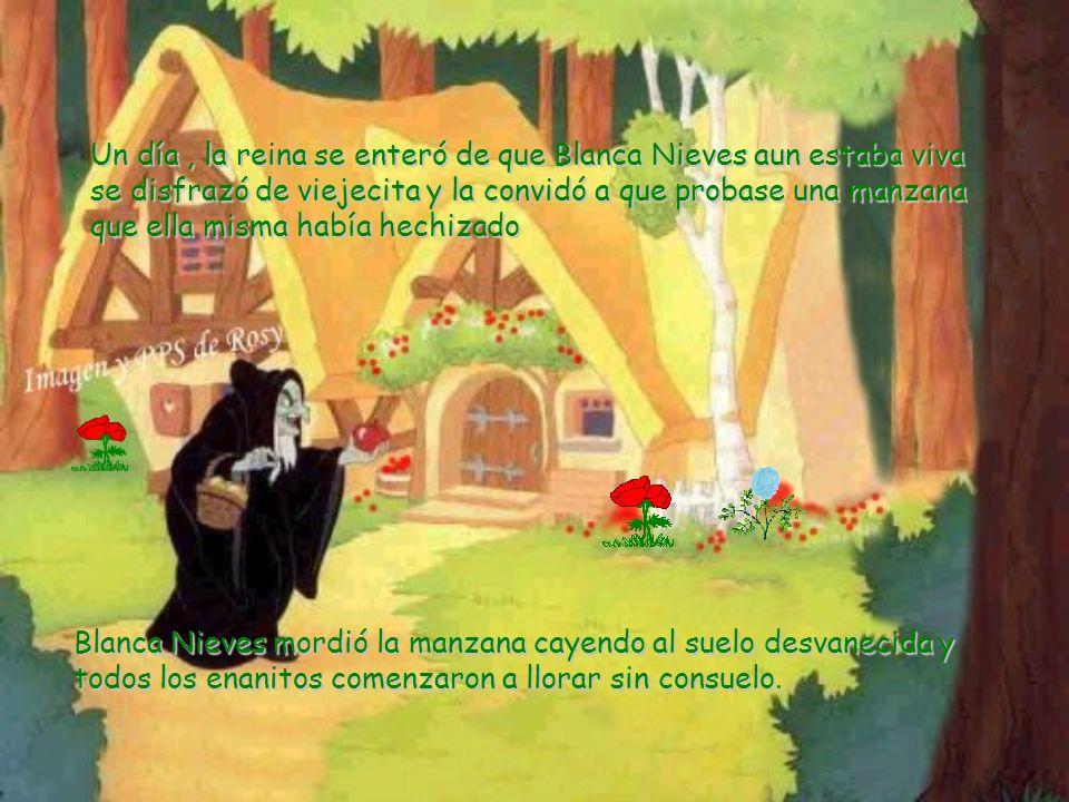 Así fue como Blanca Nieves encontró un refugio en el bosque