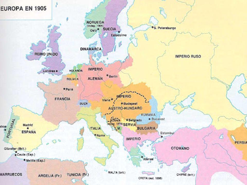 Alemania Austria Gran Bretaña Francia Bélgica Rusia Yugoeslavia Japon Polonia