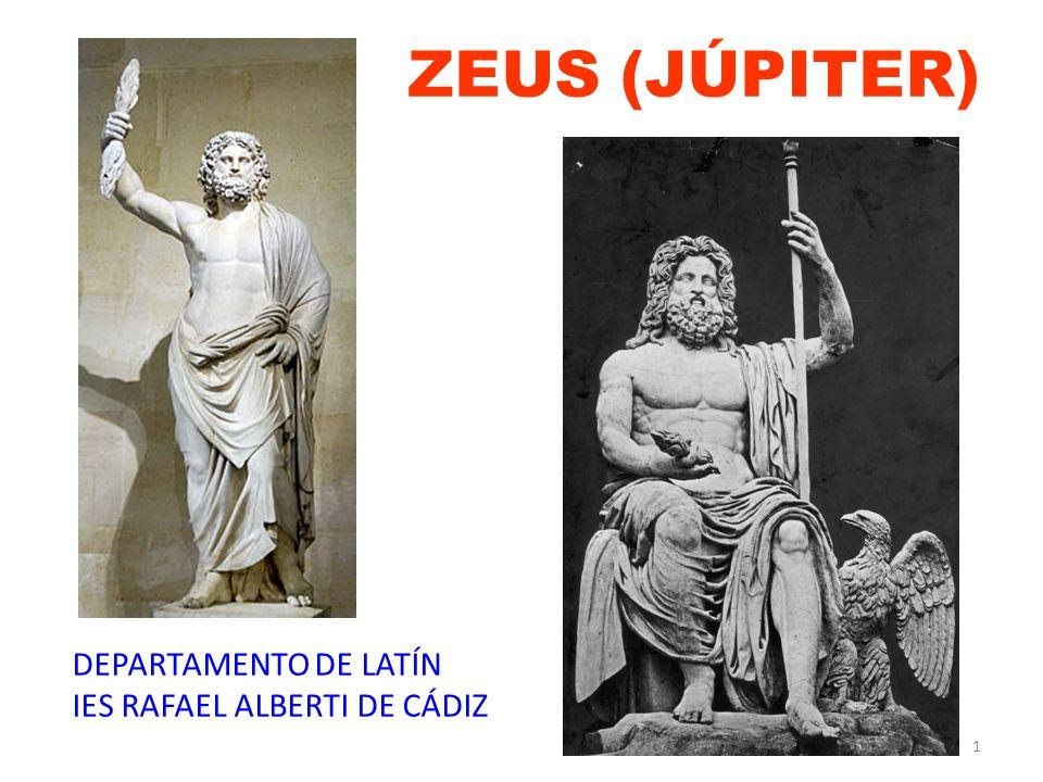 1 ZEUS (JÚPITER) DEPARTAMENTO DE LATÍN IES RAFAEL ALBERTI DE CÁDIZ