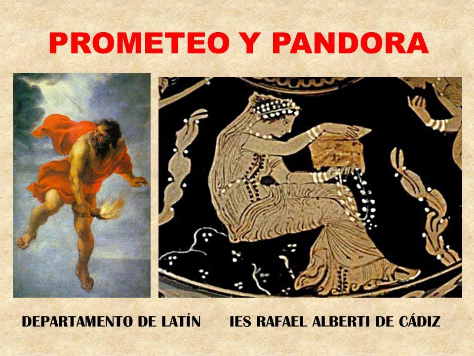 EL TITÁN PROMETEO (PRECAVIDO) ERA HERMANO DE ATLAS Y DE EPIMETEO (NO PRECAVIDO), A LOS QUE SUPERABA EN ASTUCIA Y ENGAÑOS.