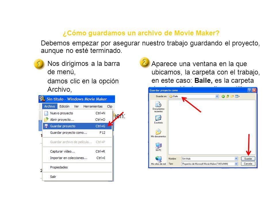 Barra de menú Barra de herramientas Monitor Ventana de medios Panel de tareas Guión gráfico y escala de tiempo Clip ¿Cómo se llama cada parte de la pa