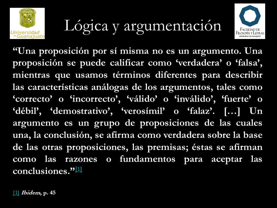 Lógica y argumentación Tradicionalmente, los argumentos se dividen en dos tipos diferentes, deductivos e inductivos.