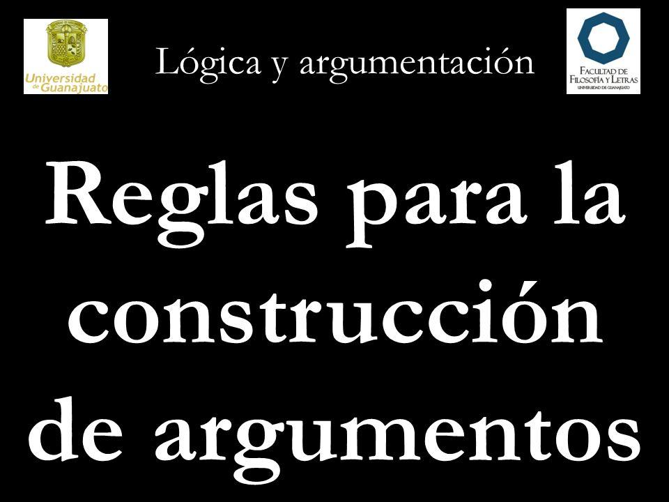 Lógica y argumentación 1.Distinga entre premisas y conclusión.