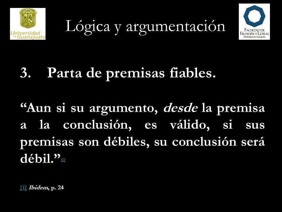 Lógica y argumentación 4.Use un lenguaje concreto, específico, definitivo.