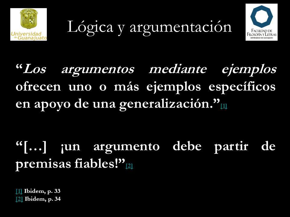 Lógica y argumentación 8.¿Hay más de un ejemplo.
