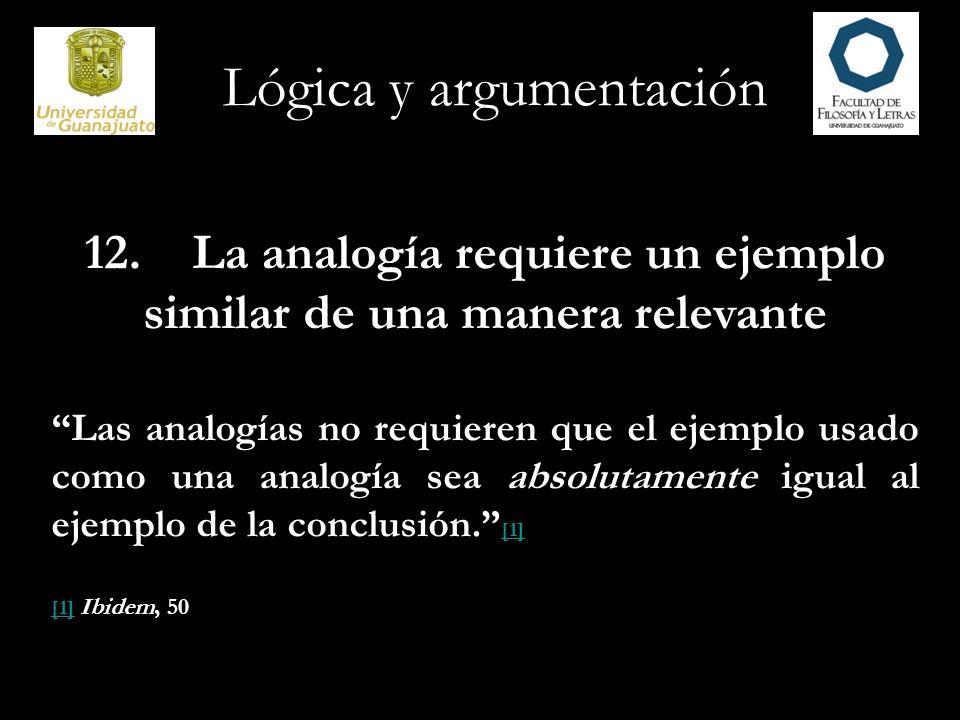 Lógica y argumentación Argumentos de autoridad