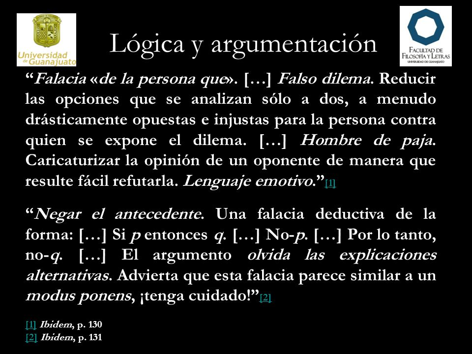 Lógica y argumentación Non sequitur.Extraer una conclusión «que no se sigue».