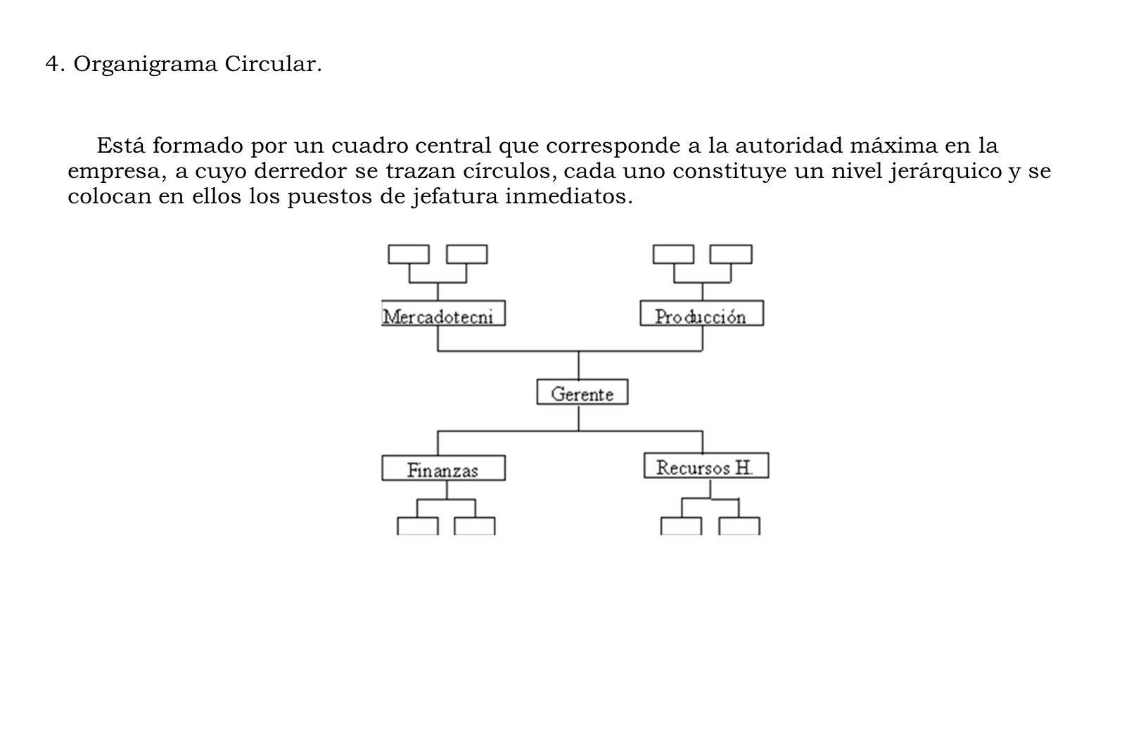 4.Organigrama Circular.