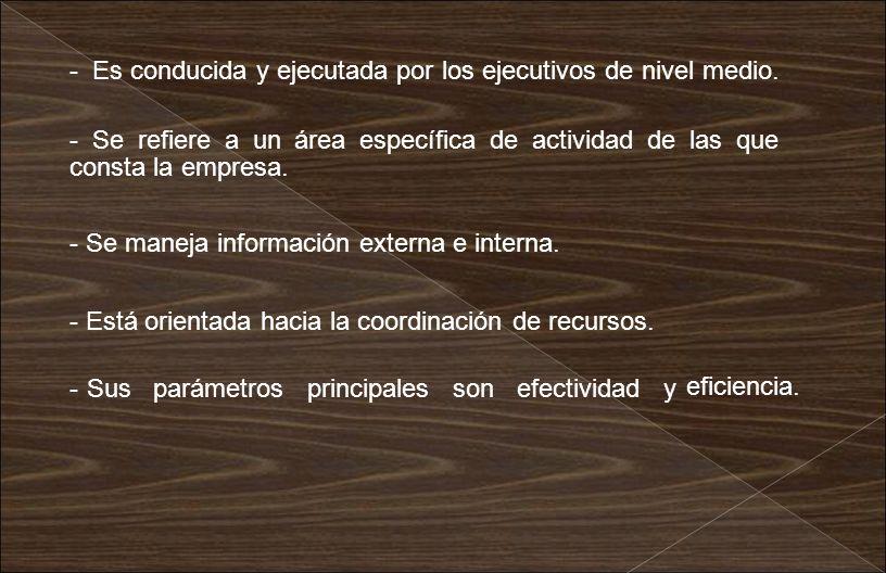 Se refiere básicamente a la asignación previa de las tareas específicas que deben realizar las personas en cada una de sus unidades de operaciones.